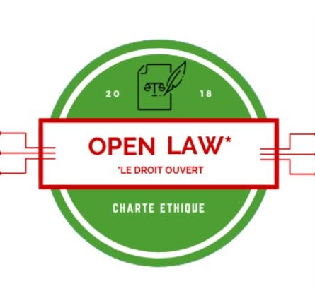 Badge open law - Charte ethique - signataire Rubato