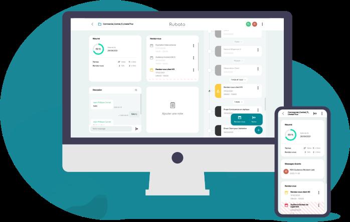 Rubato avocat avocate - application simple et intuitive