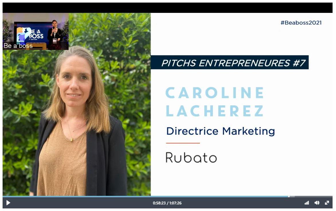 Caroline Lacherez pitch Rubato à #beaboss